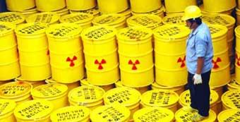¿Es peligroso transportar residuos radiactivos?