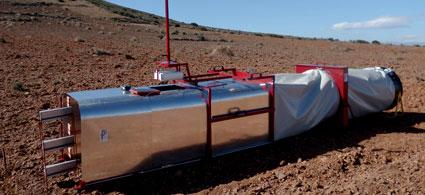 Investigadores de la UAL patentan un túnel de viento para el estudio de la erosión eólica