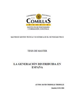 Documento de Generacion Distribuida
