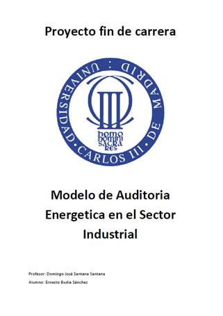 Documento de Modelo de Auditoria Energetica en el Sector Industrial