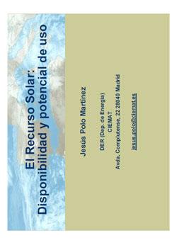 Documento de Recurso Solar