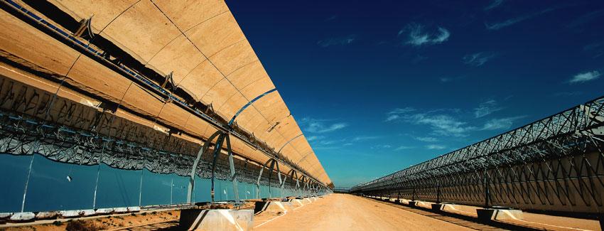 Abengoa desarrollará una nueva tecnología de almacenamiento para plantas termosolares en EEUU