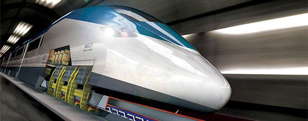 Nuevo record de velocidad para el tren de levitación magnética Maglev
