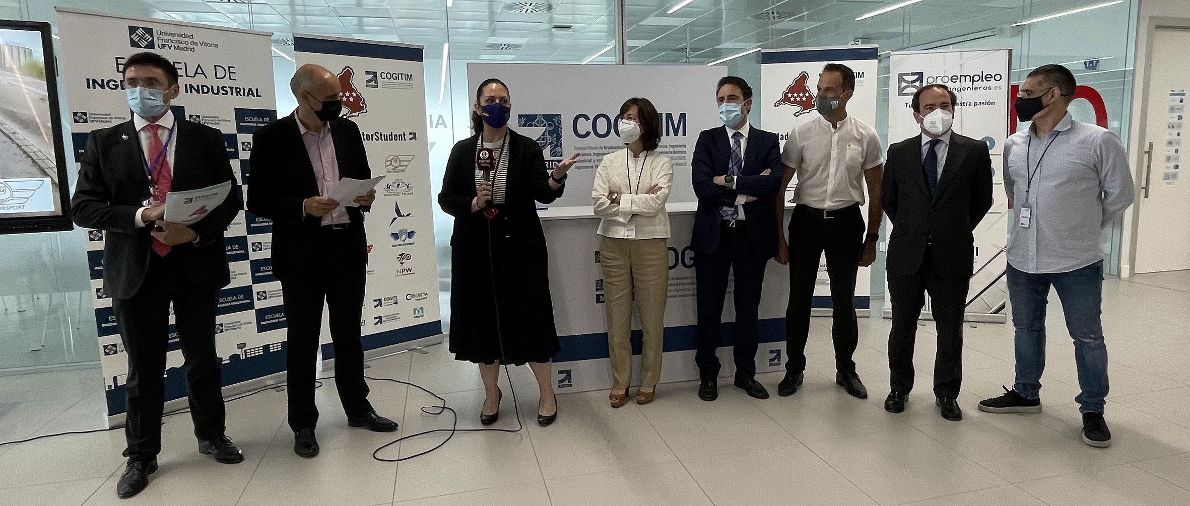 Talento, innovación y competición se dan cita en MadridMotorStudent, el nuevo gran proyecto del COGITIM