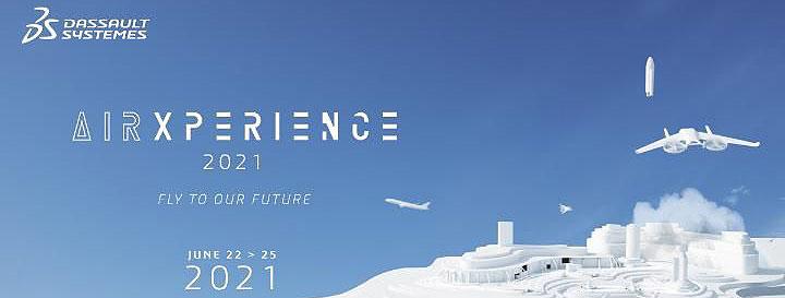 Dassault Systèmes organiza AirXperience 2021 para ofrecer nuevas perspectivas a los innovadores del futuro del vuelo