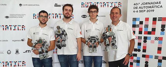 El equipo del Grupo de Robótica y Mecatrónica de la UPV (GROMEP) gana el Concurso Nacional de Robots Humanoides CEABOT 2019