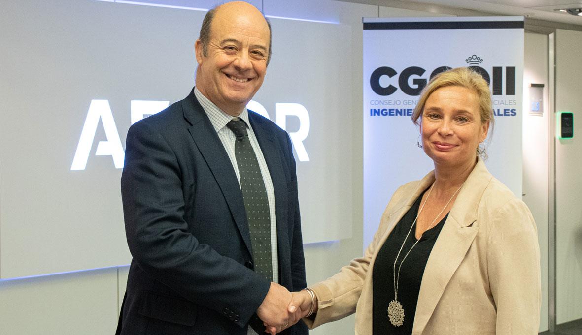 Ingenieros Industriales firman acuerdo de colaboración con AENOR Formación