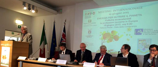 El COGITI participa en un encuentro internacional de ingenieros en Milán