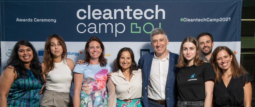 Un proyecto para la producción de material de aislamiento térmico elaborado a partir de residuos biológicos, ganador de Cleantech Camp 2021