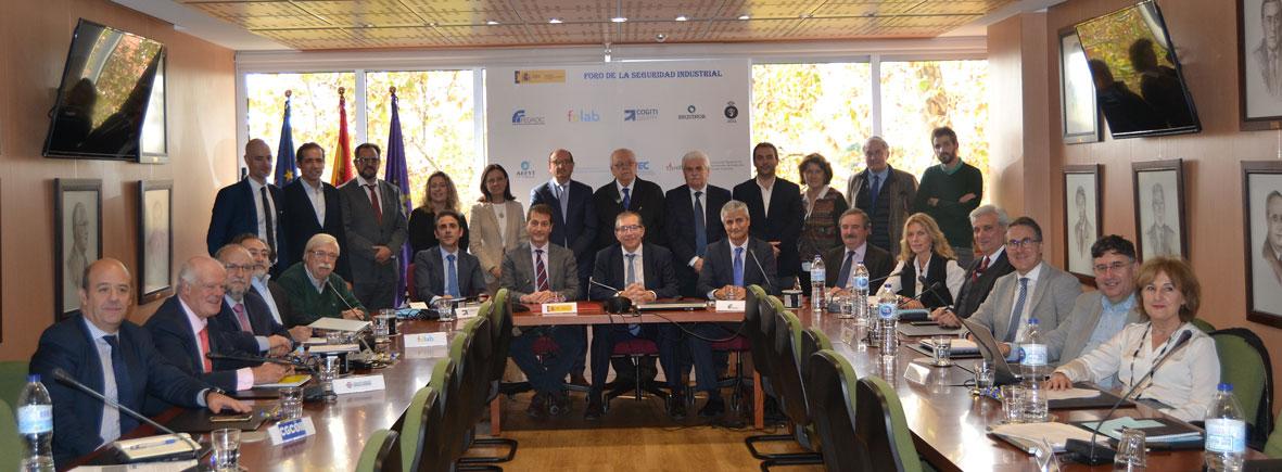 El Foro de la Seguridad Industrial traslada al Ministerio de Industria sus propuestas para la mejora de la seguridad industrial
