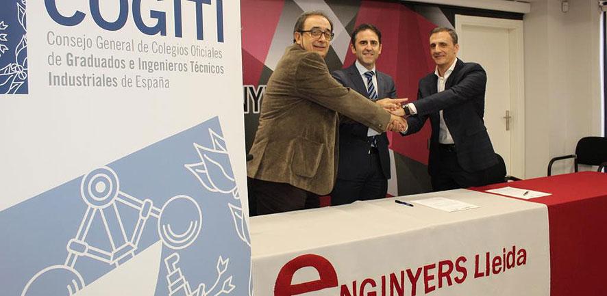 Un convenio con COGITI abre las puertas de todos los colegios de ingenieros técnicos del estado a HELP engineering