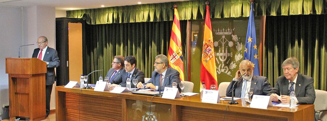 I Centenario de la Asociación de Graduados en Ingeniería de la rama industrial, Ingenieros Técnicos Industriales y Peritos Industriales de Aragón