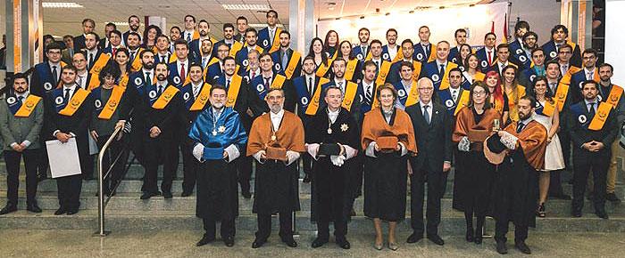 Entrega de diplomas de la LXXXIX Promoción de Ingenieros de Telecomunicación de la UPM