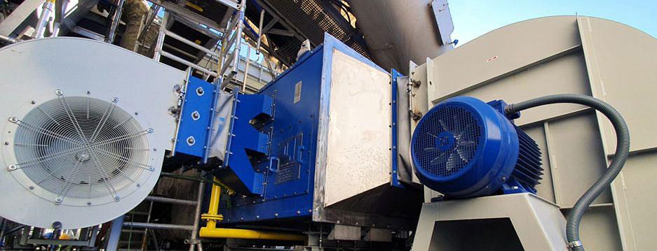Quemadores de E&M Combustión para el tratamiento de escorias de aluminio