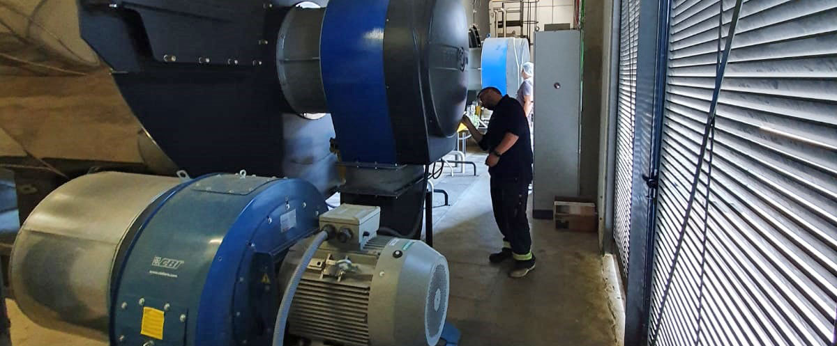 """La ingeniería E&M Combustión instala dos quemadores """"ultra Low Nox"""" en una fábrica en Portugal"""