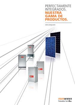 Catalogo de Sunways AG