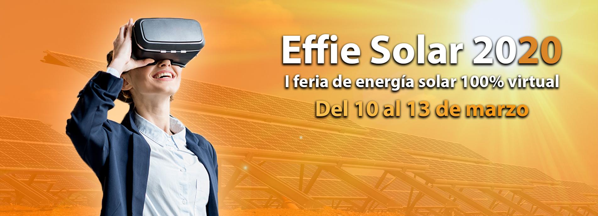 Effie Solar - I Feria Visrtual de Energía Solar