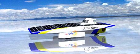 Inicio de las pruebas clasificatorias de la Carrera Solar Atacama