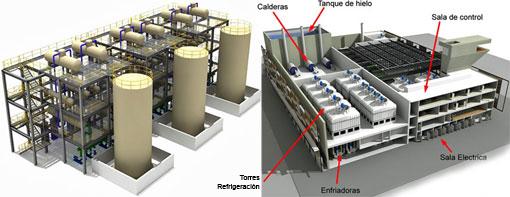 En funcionamiento la nueva central que proporcionará frio y calor en el sur de Barcelona