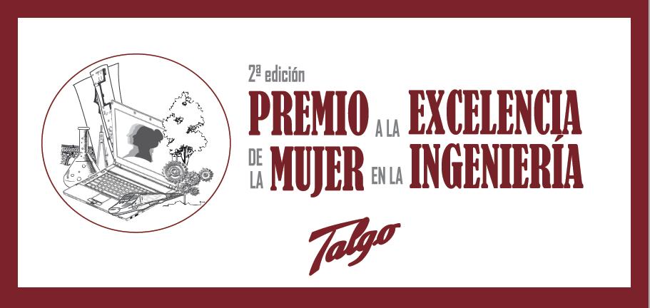 Premio Talgo a la Excelencia Profesional de la Mujer en la Ingeniería