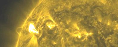 Tormentas solares, de nuevo 'La mancha 1429'
