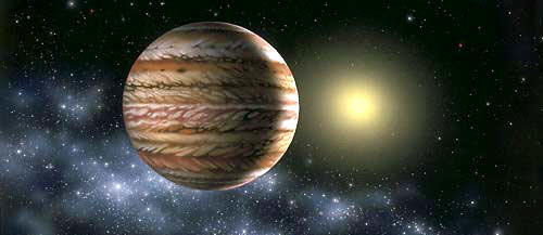 Medir la luz directa de los exoplanetas permite conocer su masa y órbita