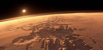 Marte, demasiado seco para cualquier forma de vida