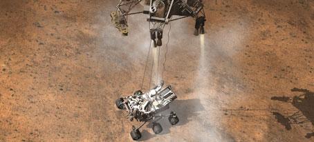 Nuevas tecnologías de desaceleración para aterrizar en Marte