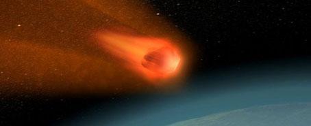 Encuentran un nuevo mineral primitivo en un meteorito