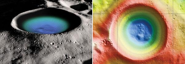 ¿Hay o no hay agua en el cráter lunar de Shackleton?