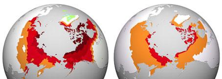 Cambio climático. Se incrementa la liberación de carbono en el Ártico
