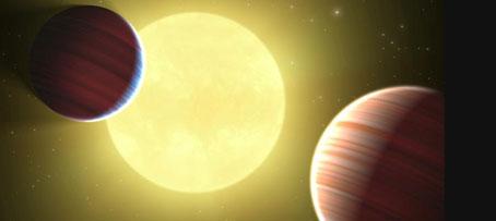 Descubierto el primer sistema planetario circumbinario