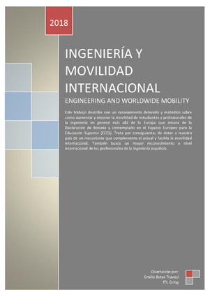 Documento de Ingeniería y Movilidad Internacional
