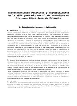 Documento de Control de Armonicos