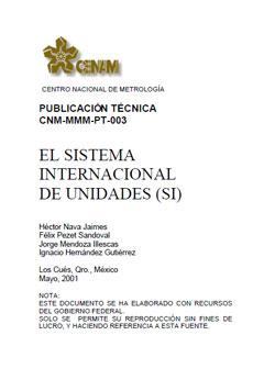 Documento de El sistema internacional de unidades