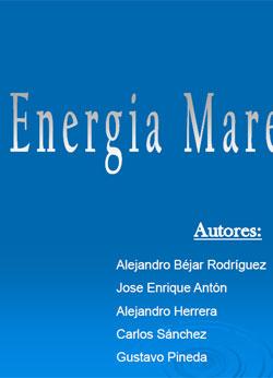Documento de Energia Maremotriz
