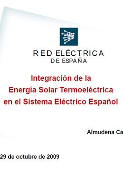 Documento de Integración Solar Termo Eléctrica
