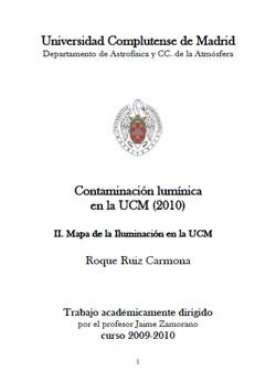 Documento de Mapa de Contaminación Lumínica