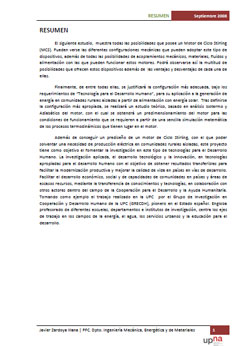 Documento de Prediseño de un Motor de Ciclo Stirling