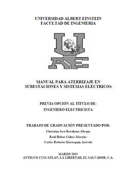 Documento de Puesta a tierra en Subestaciones y SE