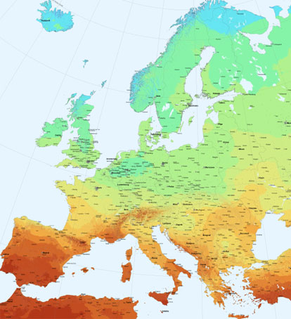 Documento de Mapa Solar Europa